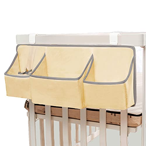 LJJOO Bolsa de almacenamiento de bebé colgando, almacenamiento de pañales de noche, bolsa de almacenamiento de noche, bolsa de pañales, bastidor de almacenamiento multifuncional, adecuado para carrile