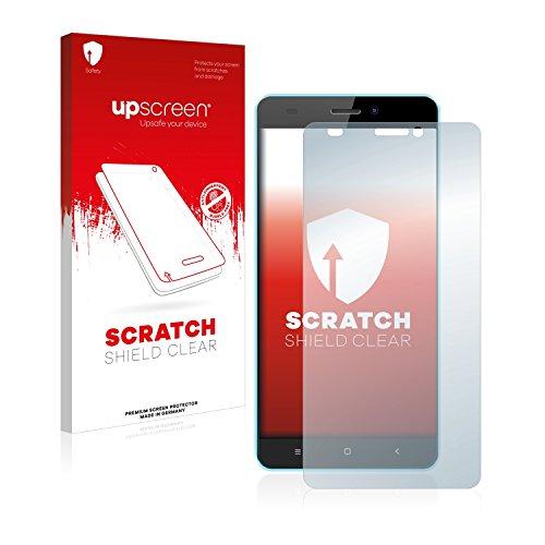 upscreen Schutzfolie kompatibel mit Oukitel C3 – Kristallklar, Kratzschutz, Anti-Fingerprint