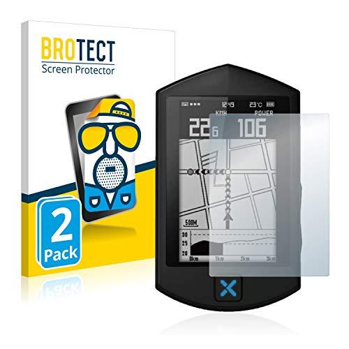 BROTECT Protector Pantalla Anti-Reflejos Compatible con Xoss Sprint (2 Unidades) Pelicula Mate Anti-Huellas