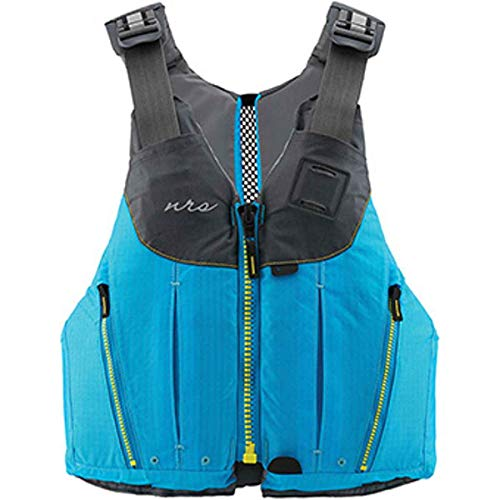 NRS Womens Nora Type III Fishing Boating Kayak Paddle Life Jacket Vest PFD with Pockets, Large/XL, Teal