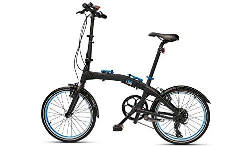 Original BMW Folding Bike Fahrrad Klapprad Faltrad schwarz/blau Größe M