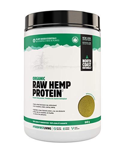 North Coast Naturals 100% Vegan Organic Raw Hemp Protein (840 g (Pack of 1))