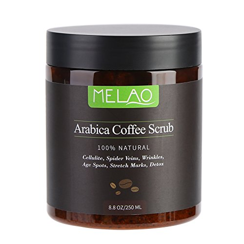 Body Scrub Pure Natural Arabica Coffee Sales del Mar Muerto