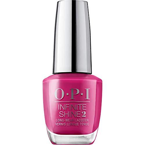 OPI Infinite Shine 2 Long-Wear Lacquer, Hurry-juku Get this Color!, Pink Long-Lasting Nail Polish, Tokyo Collection, 0.5 fl oz