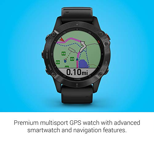 Garmin Fenix 6 Pro, smartwatch for cyclist