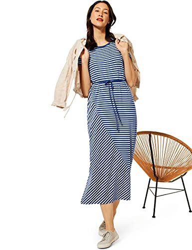 Street One Damen 142975 Kleid, Foggy Blue, 42