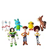 7 pcs Toy Story Cake Topper, Toy Story Party Supplies, Children's Birthday Cake Decoration