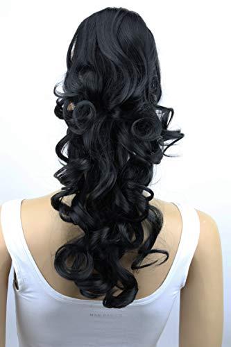 PRETTYSHOP Haarteil Hair Piece Zopf Pferdeschwanz Voluminös ca.50cm Hitzebeständig div. Farben H201