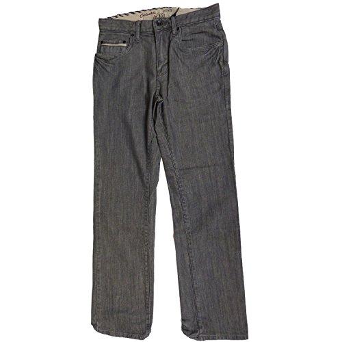 Vans Jungen Jeans V66 Slim, gravel grey, 22/23, VK6UGR3
