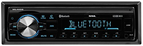 Sound Storm Labs ML46DB Car Receiver Bluetooth MP3 USB FM Radio ONLY No AM No CD DVD