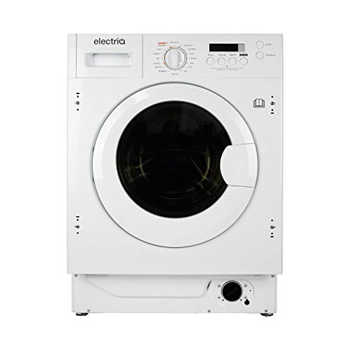 electriQ 8kg Wash 6kg Dry 1400rpm Integrated Washer Dryer - White