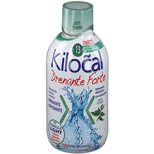 POOL PHARMA KILOCAL DRENANTE FORTE Bevanda Te Verde Green Tea Drain Drink 500ml