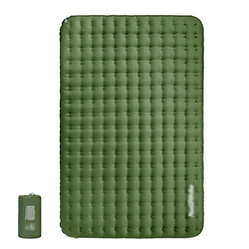 HKIASQ Sleeping Pad intégré Pompe surépaisseurs autogonflant Tapis de Camping Tente Matelas Confortable Compact étanche Air Mat pour Backpacking Voyage Randonnée