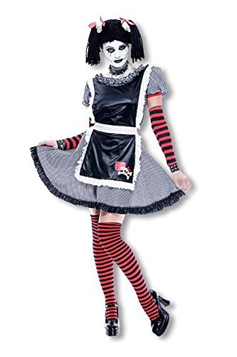 Horror-Shop Poupée gothique Costume M Schlenker