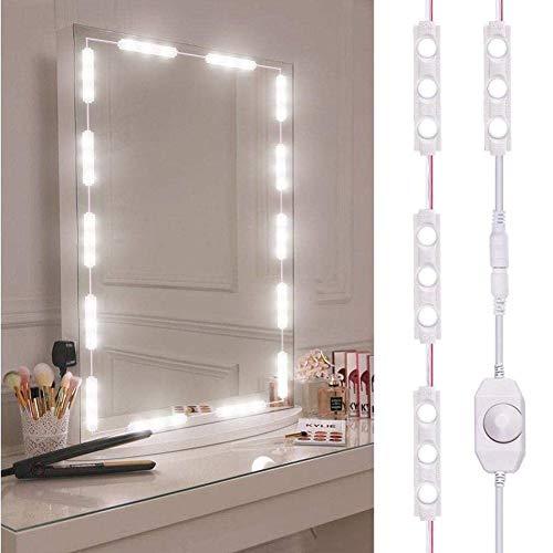 Vanity Verlichting, Stijl LED Spiegel Licht, Make-Up Spiegels Voor Make-Up Spiegel Licht, Spiegel Niet Inbegrepen, 60 LED-Lampen Met Dimfunctie