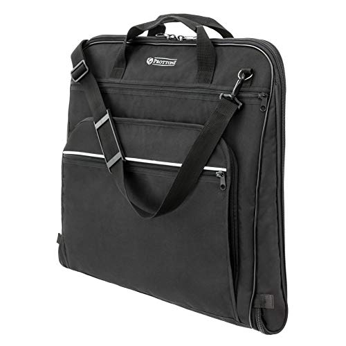 Prottoni 44-inch Garment Bag for Travel – Water-Resistant Carry-On Suit...