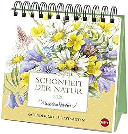 Schönheit der Natur Postkartenkalender 2020: Wochenkalender