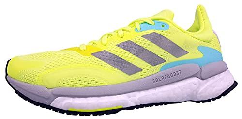 Adidas Damen Solar Boost 21 Straßen-Laufschuh, HIREYE/SILVMT/DSHGRY, 39 1/3 EU