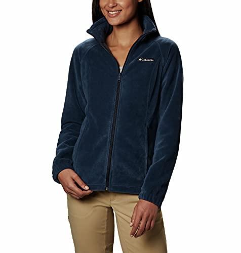 Columbia womens Benton Springs Full Zip Fleece Jacket, Columbia Navy,...