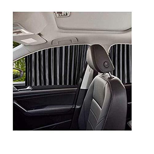 Side Window Zonneschermen Voor in De Auto - Baby Beige Schaduwen Van De Zon (4 Stuks) Magnetische Gordijnen Beschermt Uw Baby En Oudere Kinderen Van The Sun,Black