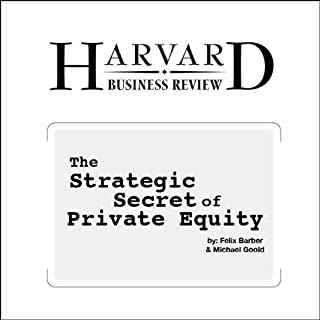 The Strategic Secret of Private Equity (Harvard Business Review) cover art