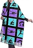 Tengyuntong Bufanda de mantón Mujer Chales para, Mujer Niño...