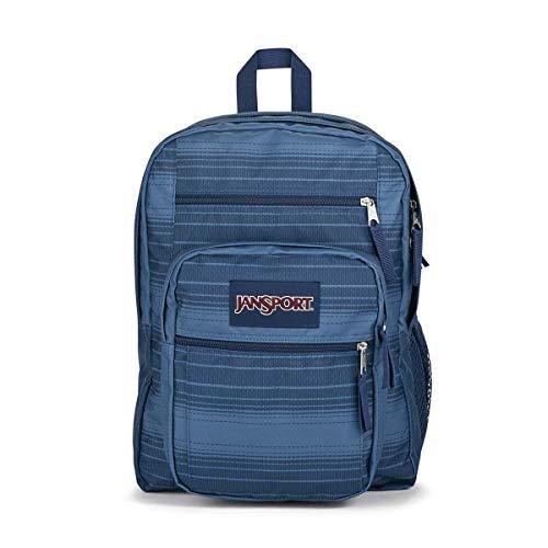 JanSport Big Student Backpack - School, Travel, or Work Bookbag with 15-Inch Laptop Compartment, Saddle Stripe