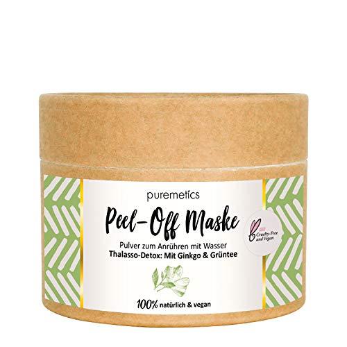 puremetics Zero Waste Peel-Off Maske