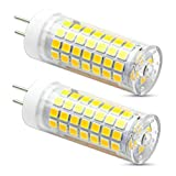 VWV GY6.35 LED Bulb 7 Watt 750 Lumens, AC 110V~265V Voltage is Applicable,75W Halogen Bulb Equivalent, G6.35/GY6.35 Base, Not-Dimmable Daylight White 6000K, (Pack of 2)
