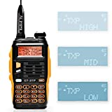 BAOFENG GT-3TP Mark-III 8W/4W/1W Dual Band Two Way Radio Handheld Transceiver, with Car Charger
