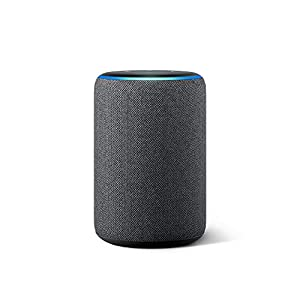 best smart speaker for entertainment for smart house. Its well know echo alexa 3generation