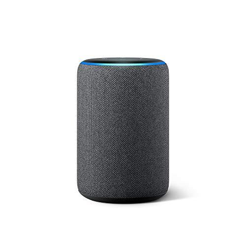 Echo (3rd Gen)- Smart speaker with Alexa- Charcoal (Electron...