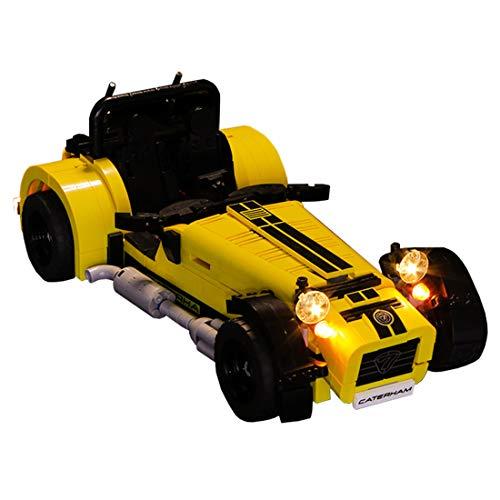 POXL Licht-Set Für Caterham - LED Licht Set Led Beleuchtungsset Für Lego 21307 - NUR Licht Set