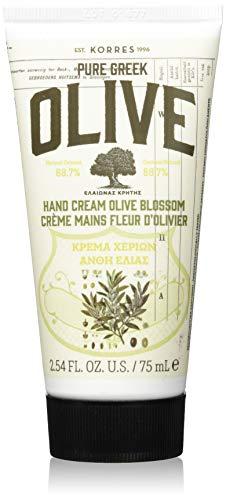 Korres Olive und Olive Blossom Handcreme, 1er Pack (1 x 75 ml)