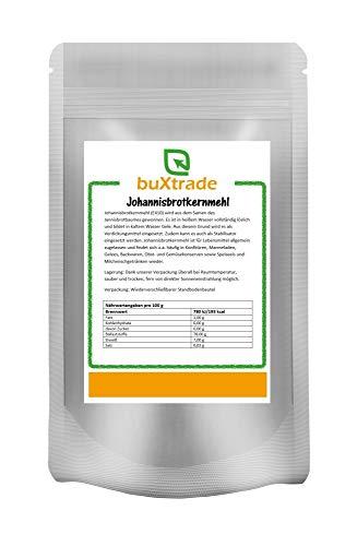 2 x 500 g Johannisbrotkernmehl | E 410 | Verdickungsmittel | Stabilisator | Geliermittel |1 kg