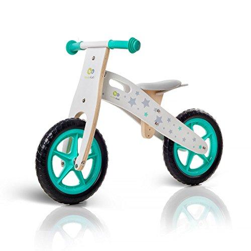KinderKraft KKRUNNRSTR000Z Kk Baby Balance Bike Lightweight Kids First Bicycle Laufrad Cutie, Lernlaufrad, Kinderlaufrad, Lauflernrad, Rosa, 50 x 37 x 22