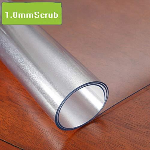 TWTIQ Mantel De PVC Mantel Transparente Mantel Impermeable