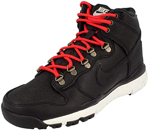 Nike Herren sb Dunk high Boot Skateboardschuhe, Schwarz Schwarz Schwarz Schwarz Segel Ale braun, 39 EU