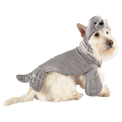 Dog Costume - Seal - 2 Piece Costume (X-Small)