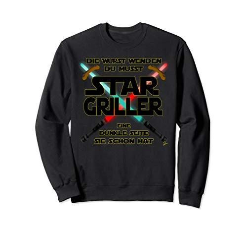 Star Griller wurst - Grill Geschenk für männer Grillschürze Sweatshirt