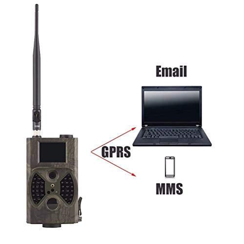 BXX Cámara de viaje al aire libre-Hc-300M 2G Lte Trail Cámara inalámbrica de 1080p / 12Mp con 2 'Lcd Mms y Gprs Cellular Game Path Camera/Cámara de seguridad   36 Máquina de caza infrarroja