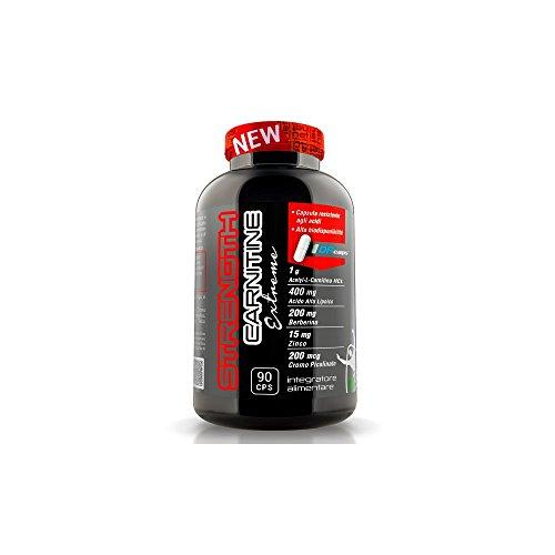 Strenght Carnitine - Booster per il metabolismo e l'aumento della forza - Net Integratori (1)