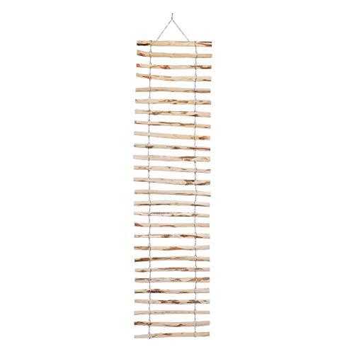 BOGATECO Rankgitter aus Haselnuss für Kletterpflanzen | 50 x 200 cm | Holz Rankhilfe Perfekt für den Garten, Balkon und Terrasse