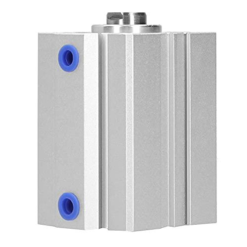 Wosune Cilindro de Aire de aleación de Aluminio, Alta eficiencia, Larga Vida útil, diseño Profesional, Cilindro de Aire neumático para Suministros industriales para Dispositivos de sujeción
