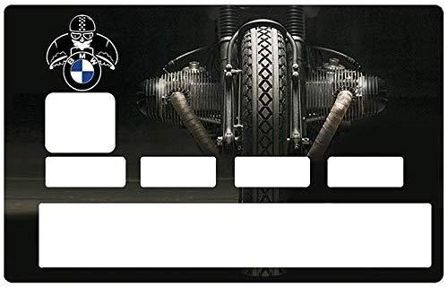 Sticker voor bankkaart, BMW moto - Onderscheid en versier je bankkaart naar wens !! Makkelijk aan te brengen, zonder luchtbellen