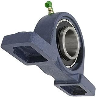 /UCF 201//amortiguaci/ón 201/orificio de 12/mm 2/Pcs/ hierro fundido Brida Unidad de rodamientos self-aligning almohada Rodamientos