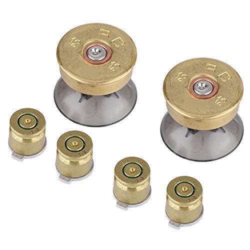 Sren Gaming Gold Buttons, Buttons für Ersatzteile für Controller Grip 4 4