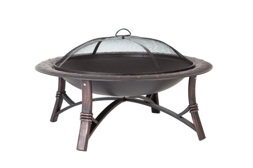 Lowest Prices! Fire Sense Roman Fire Pit