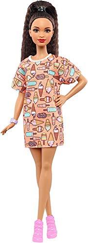 Barbie - Fashionista, muñeca con Vestido Swag (DVX78