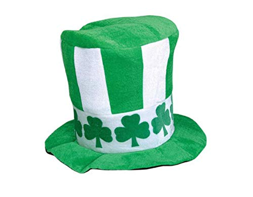 Anmutigcelle Zylinder hut,St Patricks,hoher zylinder hut,grüne St Patricks Tag Zylinder irischen Samt Huthoher zylinder hut Cosplay funny party cap